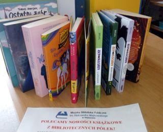 Nowości wydawniczne w Wypożyczalni dla Dzieci
