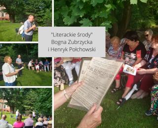 Literacka środa z Bogną Zubrzycką i Henrykiem Połchowskim