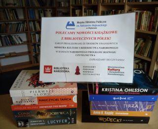 Nowości książkowe w Bibliotece