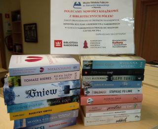 Nowości wydawnicze w Wypożyczalni dla Dorosłych