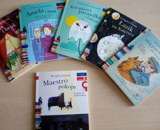 Nowości książkowe w Wypożyczalni dla Dzieci i Młodzieży