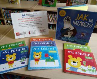 Nowości książkowe w Wypożyczalni dla Dzieci