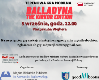 Balladyna the Kirkor edition