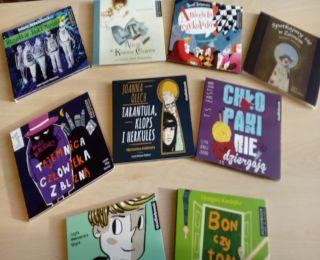 Audiobooki z bibliotecznej półki