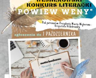 """XVI edycja Wejherowskiego Konkursu Literackiego """"Powiew Weny"""""""