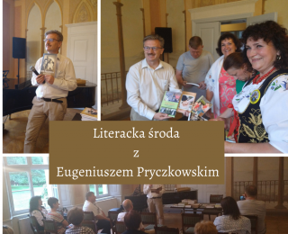 Literacka środa z Eugeniuszem Pryczkowskim